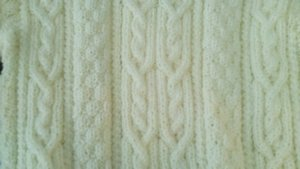 irlandais dans tricot