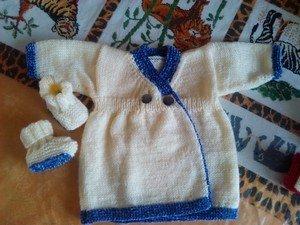 petite-robe dans tricot