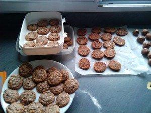 Après-midi cuisine dans cuisine cookies