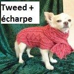 Manteaux et écharpes pour chien